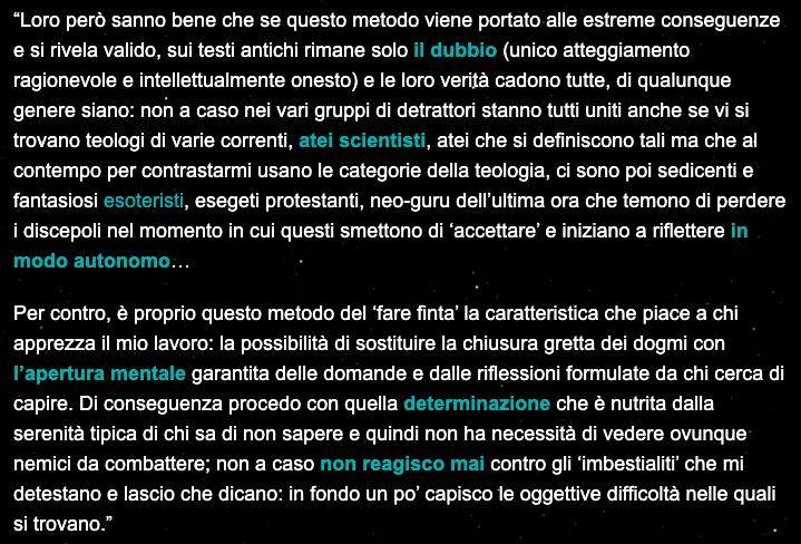 Biglino - Intellettualmente onesto